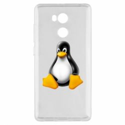Чехол для Xiaomi Redmi 4 Pro/Prime Пингвин Linux
