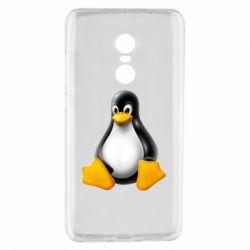 Чохол для Xiaomi Redmi Note 4 Пингвин Linux