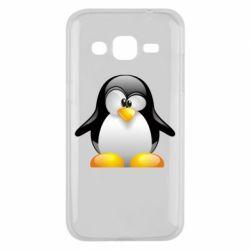 Чохол для Samsung J2 2015 Пінгвін