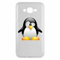 Чохол для Samsung J7 2015 Пінгвін