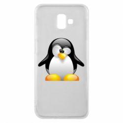 Чохол для Samsung J6 Plus 2018 Пінгвін