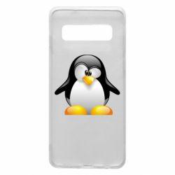 Чохол для Samsung S10 Пінгвін