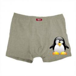 Мужские трусы Пингвинчик - FatLine
