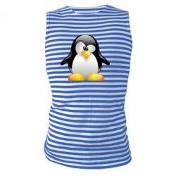 Майка-тельняшка Пингвинчик