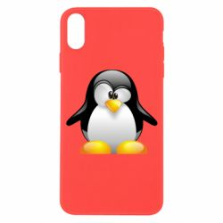 Чохол для iPhone X/Xs Пінгвін