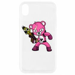 Чохол для iPhone XR Pink bear