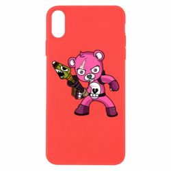 Чохол для iPhone Xs Max Pink bear