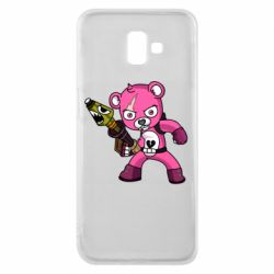 Чохол для Samsung J6 Plus 2018 Pink bear