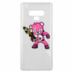 Чохол для Samsung Note 9 Pink bear