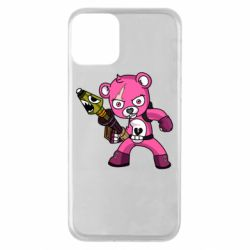 Чохол для iPhone 11 Pink bear
