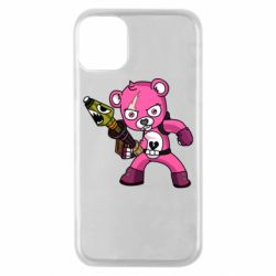 Чохол для iPhone 11 Pro Pink bear