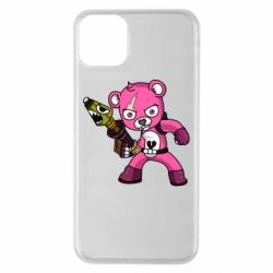 Чохол для iPhone 11 Pro Max Pink bear