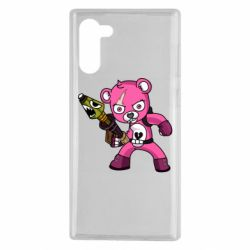 Чохол для Samsung Note 10 Pink bear