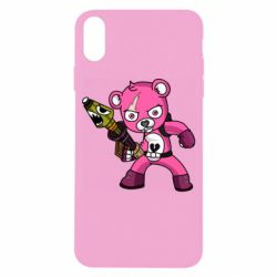 Чохол для iPhone X/Xs Pink bear