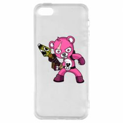 Чохол для iphone 5/5S/SE Pink bear