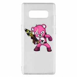 Чохол для Samsung Note 8 Pink bear