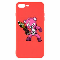 Чохол для iPhone 8 Plus Pink bear
