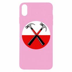 Чохол для iPhone Xs Max Pink Floyd Main Logo
