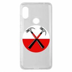 Чохол для Xiaomi Redmi Note Pro 6 Pink Floyd Main Logo