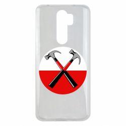 Чохол для Xiaomi Redmi Note 8 Pro Pink Floyd Main Logo