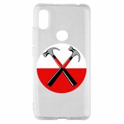 Чохол для Xiaomi Redmi S2 Pink Floyd Main Logo