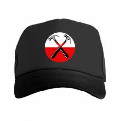Купить Кепка-тракер Pink Floyd Main Logo, FatLine