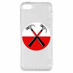 Чохол для iphone 5/5S/SE Pink Floyd Main Logo