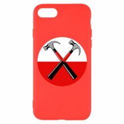 Чохол для iPhone 8 Pink Floyd Main Logo