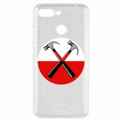 Чохол для Xiaomi Redmi 6 Pink Floyd Main Logo