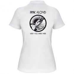 Женская футболка поло Pink Floyd Wish You