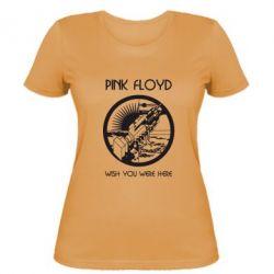 Женская футболка Pink Floyd Wish You