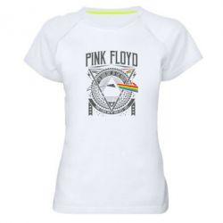 Жіноча спортивна футболка Pink Floyd