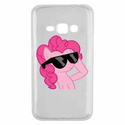 Чехол для Samsung J1 2016 Pinkie Pie Cool