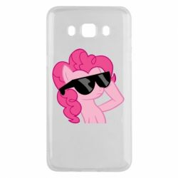 Чехол для Samsung J5 2016 Pinkie Pie Cool