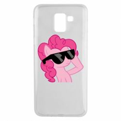 Чохол для Samsung J6 Pinkie Pie Cool - FatLine