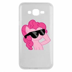 Чохол для Samsung J7 2015 Pinkie Pie Cool - FatLine