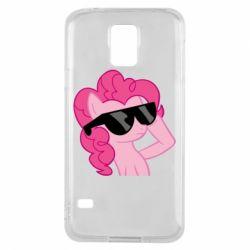 Чехол для Samsung S5 Pinkie Pie Cool