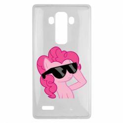 Чохол для LG G4 Pinkie Pie Cool - FatLine