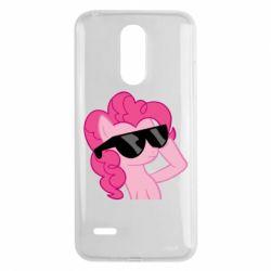 Чохол для LG K8 2017 Pinkie Pie Cool - FatLine