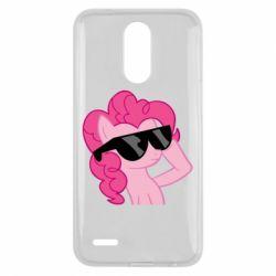 Чохол для LG K10 2017 Pinkie Pie Cool - FatLine