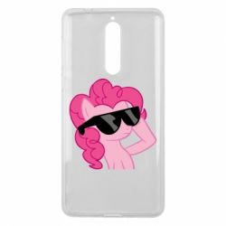 Чохол для Nokia 8 Pinkie Pie Cool - FatLine