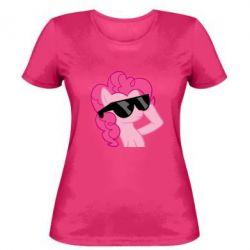 Женская футболка Pinkie Pie Cool