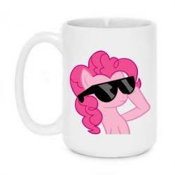Кружка 420ml Pinkie Pie Cool