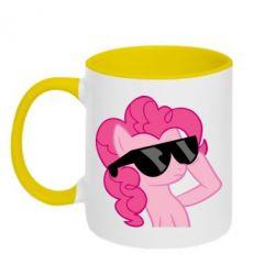 Кружка двухцветная 320ml Pinkie Pie Cool