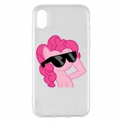 Чохол для iPhone X Pinkie Pie Cool - FatLine