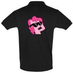 Мужская футболка поло Pinkie Pie Cool