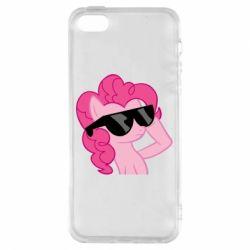 Купить My Little Pony, Чехол для iPhone5/5S/SE Pinkie Pie Cool, FatLine