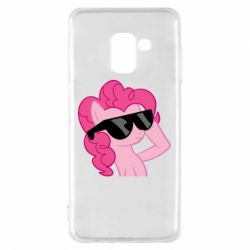 Чохол для Samsung A8 2018 Pinkie Pie Cool - FatLine