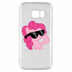 Чохол для Samsung S7 Pinkie Pie Cool - FatLine