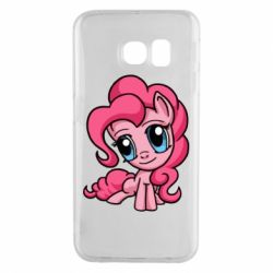 Чохол для Samsung S6 EDGE Pinkie Pie small